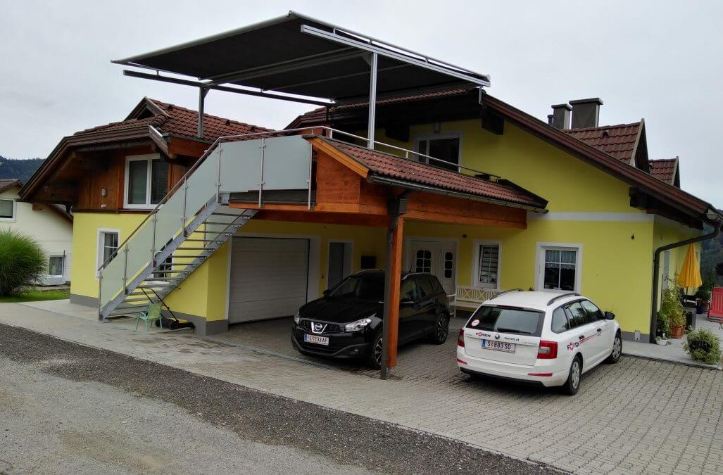 Sanierung Wohnungserweiterung mit Terrasse