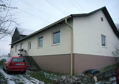 Sanierung Hausaufstockung