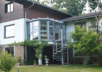 Wintergarten-Wohnraumerweiterung