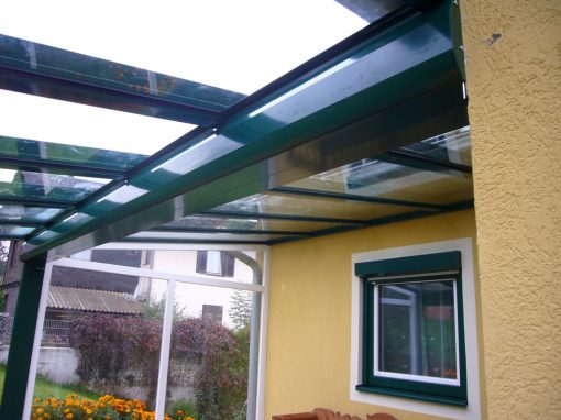 Terrassenüberdachung mit System HAWAII 40