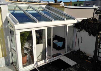 Sommergarten-Dacherneuerung